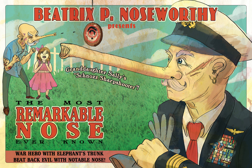 Most Remarkable Nose poster