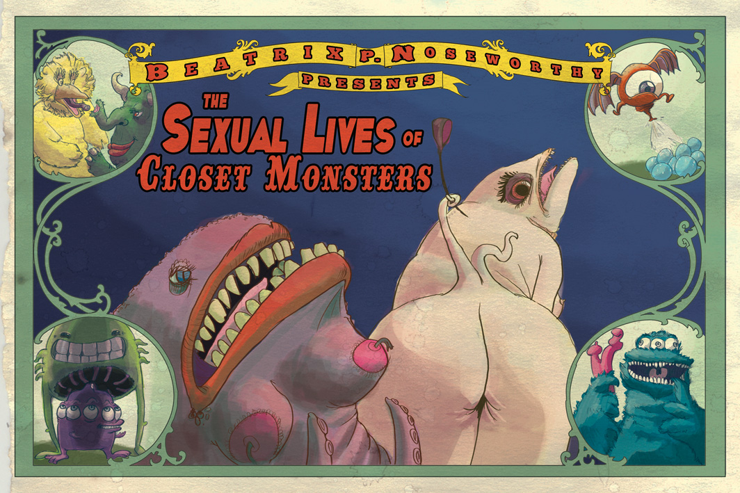 sex lives of closet monsters final poster