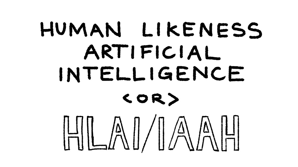 10 - human likeness artificial intelligence or HLAI