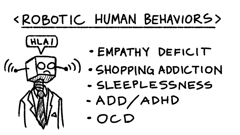 21 - robotic human behaviors